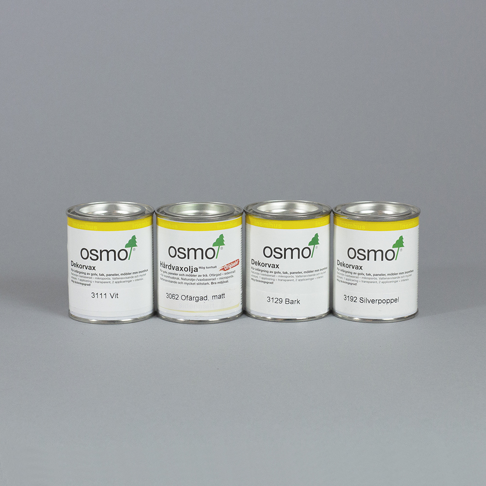 Osmo decor wax and hardwax-oil